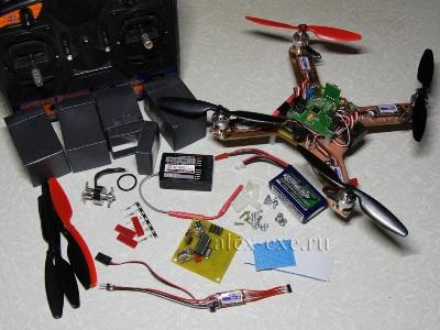 Мелкокоптер и его детали