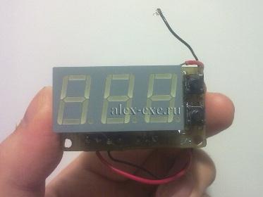 Новый вольтметр на PIC16F688
