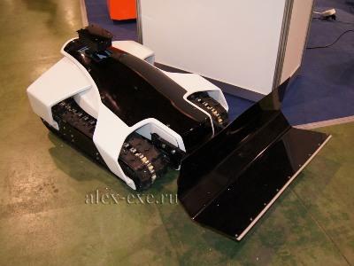 Робот снегоуборщик
