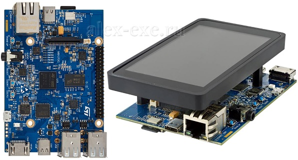 Discovery с STM32MP1