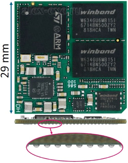 Сборка DHCOR STM32MP15x