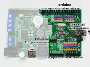 Периферия RPiDuino - Arduino