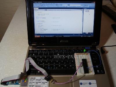 Первая программа, первое устройство на atmeg'е