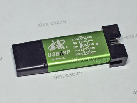 Бывший программатор USB ISP, теперь USB ASP
