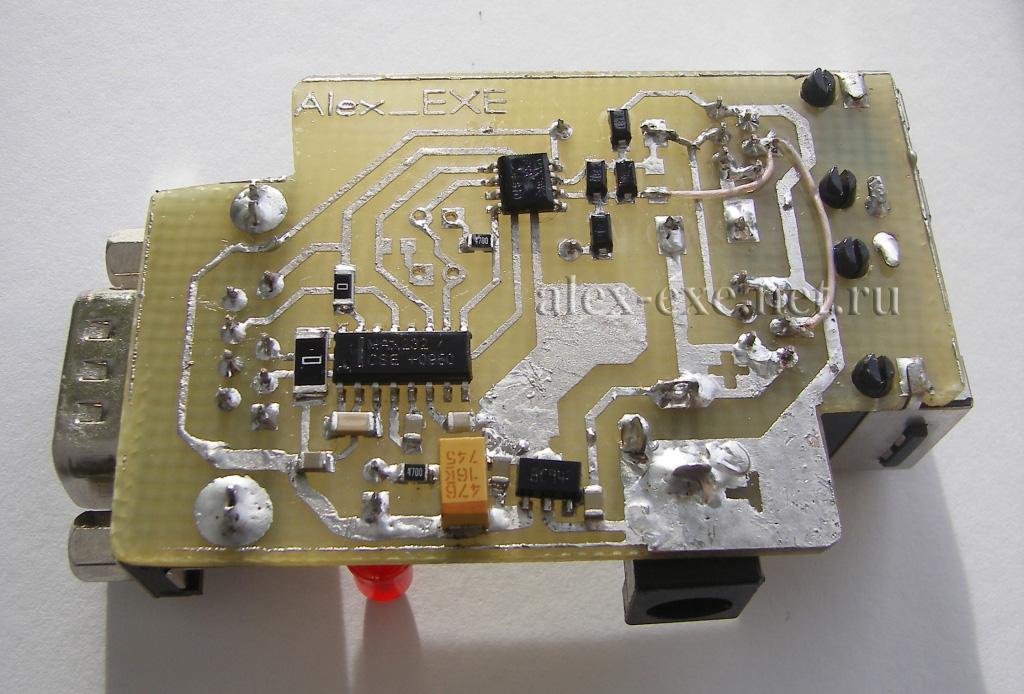 Схемы и устройства Преобразователь USB ltgt RS232RS485