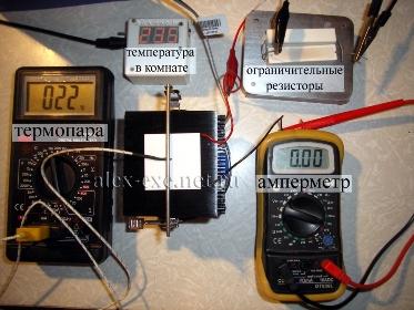 Стенд испытания выкл, модуль TB-127-1,4-1,5