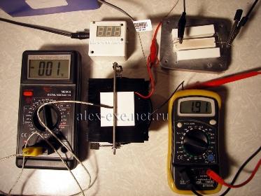 Модуль TB-127-1,4-1,5 спустя 30 секунд