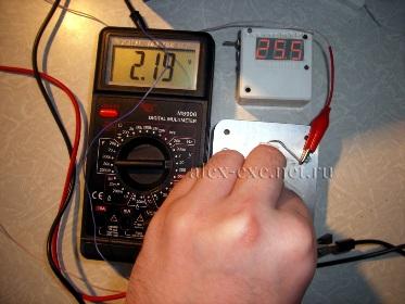 Без нагрузки, перепад температур ~100°С, элемент пельтье TB109-0.6-0.8