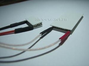 Однокаскадные маленькие модули пельтье TB35-0.6-0.8 и TB109-0.6-0.8