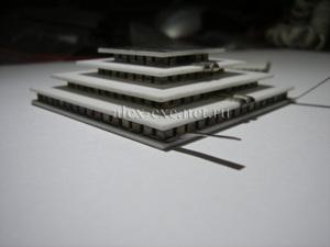Большой 4-х уровневый модуль пельтье TB4-(127-71-31-17)-1.66