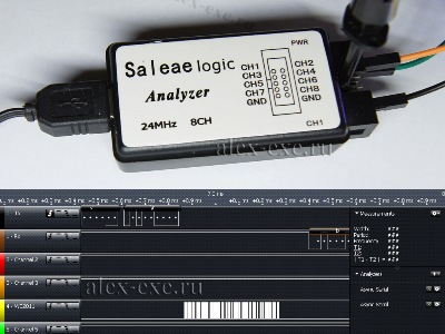 Логический анализатор Saleae Logic