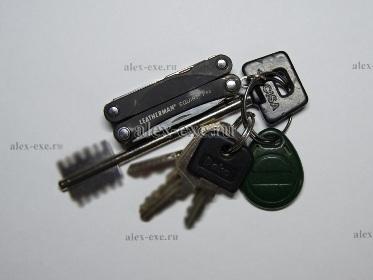 Мультитул на связке ключей