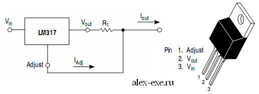 Схема драйвера (из datasheet)