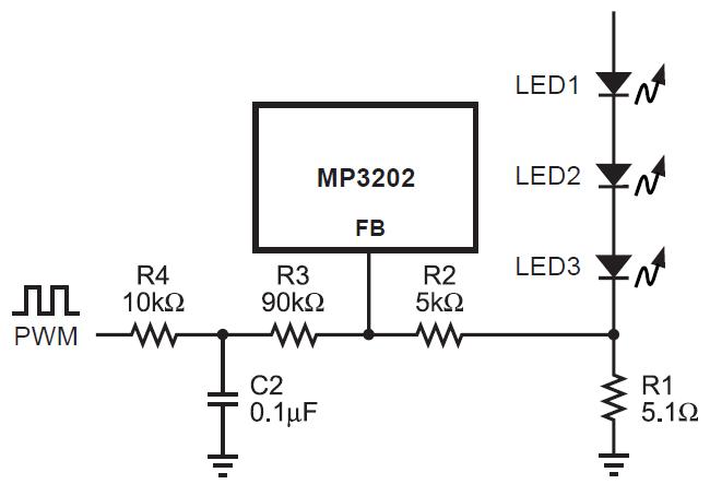 Схеми диммирования, для частот выше 1КГц