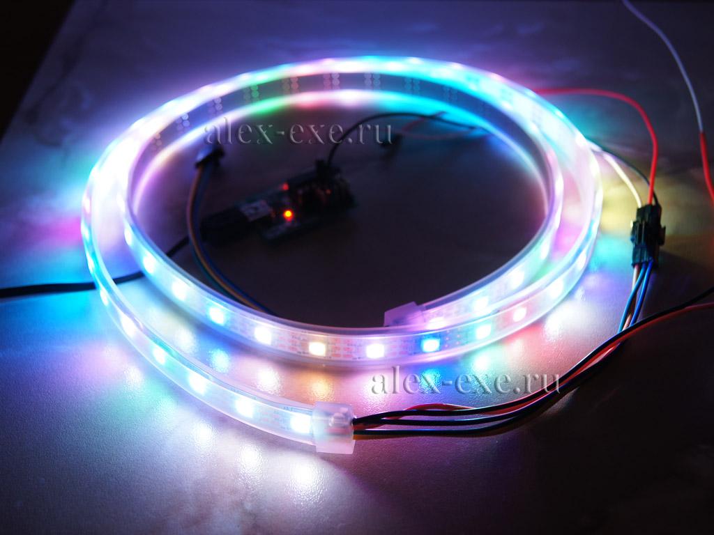 схема драйвера для питания светодиодной ленты