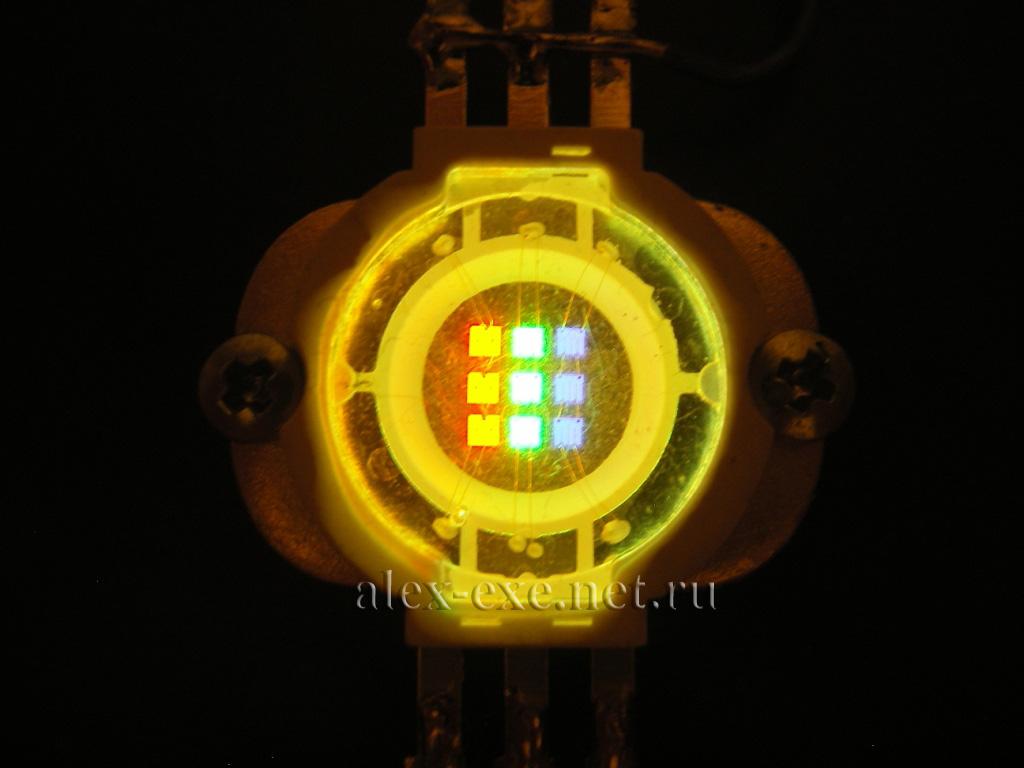 rgb светодиоды на мк схема