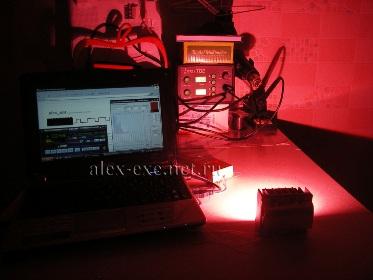 ...задание приятного светового оттенка с компьютера, цветомузыка, световые шоу, динамическая фоновая подсветка...