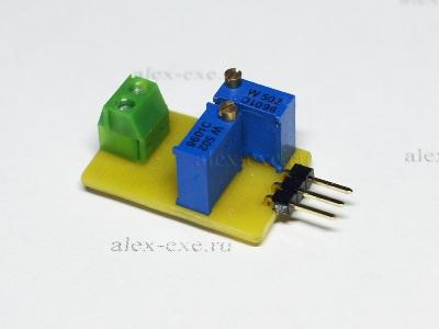 Преобразователь 0-5В в 4-20мА на xtr115u