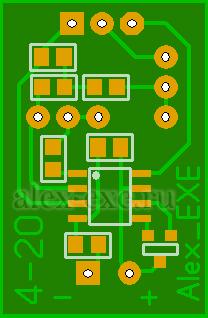 Схема с подстроечными резисторами