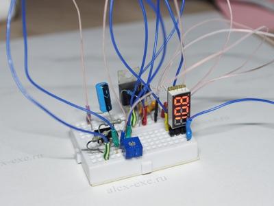Пример использования микро вольтметра