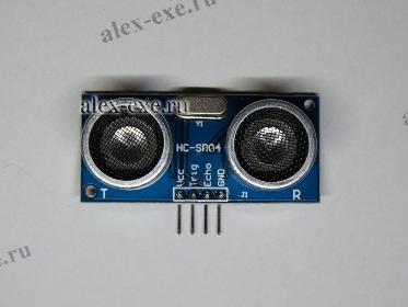 УЗ дальномер HC-SR04