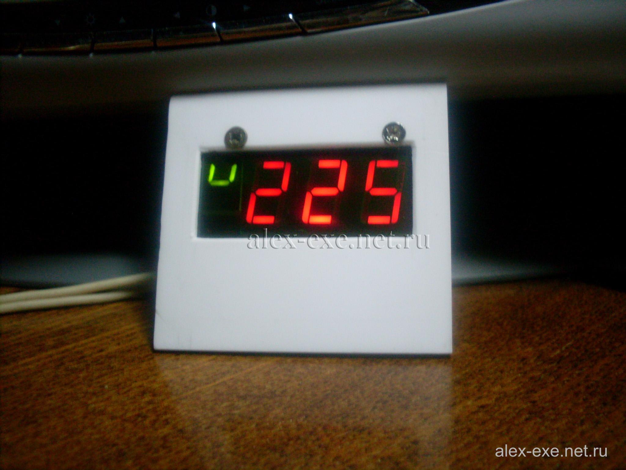 схема вольтметра на 220 вольт pic контроллере