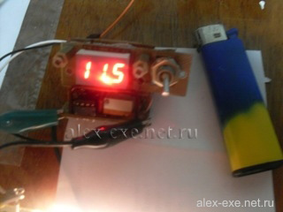 Фото измерения напряжение