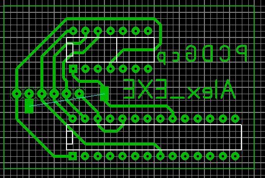 Дополнительная печатная плата для панелек, программатор EXTRA-PIC