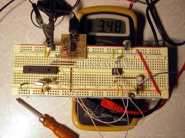 USB-UART адаптера в работе