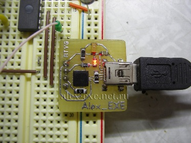 Преобразователь USB-UART на cp2102