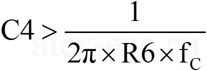 C4>4/(2*pi*R6*fc)