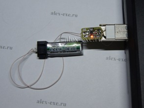 USB Li-ion/Li-Poly зарядка