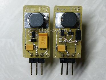 Преобразователи ncp1450 и ncp1400 на 5В