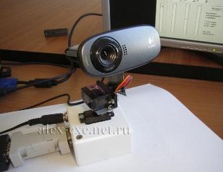 Камера на управляемой подставке