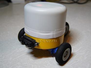 3-х колёсный робот