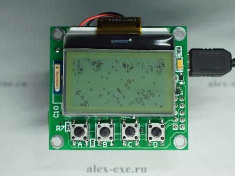 Игра Жизнь на экране. Микроконтроллер stm32f103