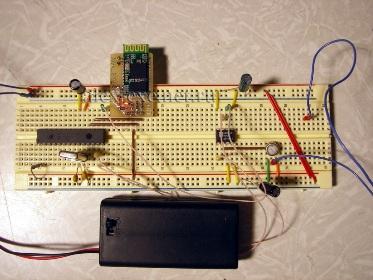 PIC16F873a + Bluetooth