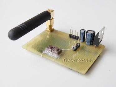 Вид платы GSM M10 от quectel сверху