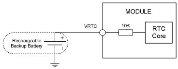 RTC с использованием аккумулятора
