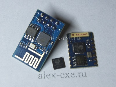 Чип esp8266 и модули на его основе