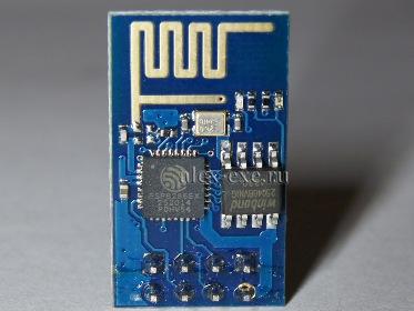 Подключение модуля ESP-01