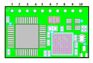 Распиновка модуля USR-WiFi232-T